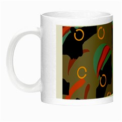 African Women Ethnic Pattern Night Luminous Mugs
