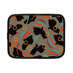 African Women Ethnic Pattern Netbook Case (small)