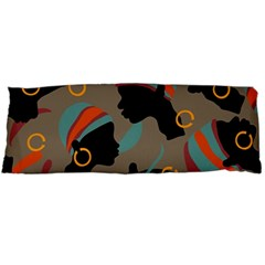 African Women Ethnic Pattern Body Pillow Case Dakimakura (Two Sides)