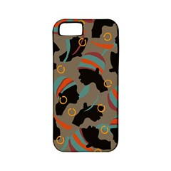 African Women Ethnic Pattern Apple Iphone 5 Classic Hardshell Case (pc+silicone)