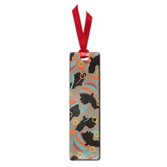 African Women Ethnic Pattern Small Book Marks