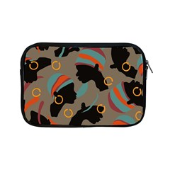 African Women Ethnic Pattern Apple iPad Mini Zipper Cases