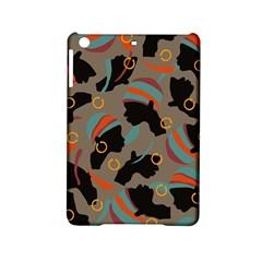 African Women Ethnic Pattern Ipad Mini 2 Hardshell Cases