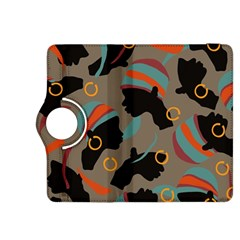 African Women Ethnic Pattern Kindle Fire HDX 8.9  Flip 360 Case