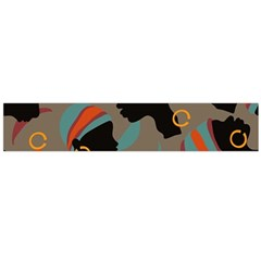 African Women Ethnic Pattern Flano Scarf (Large)