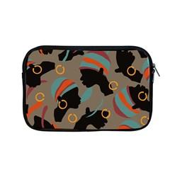 African Women Ethnic Pattern Apple Macbook Pro 13  Zipper Case