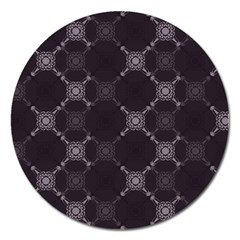 Abstract Seamless Pattern Magnet 5  (Round)