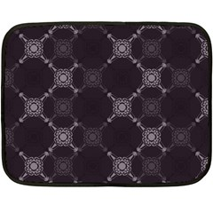 Abstract Seamless Pattern Double Sided Fleece Blanket (mini)