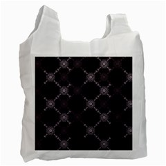 Abstract Seamless Pattern Recycle Bag (two Side)