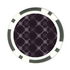 Abstract Seamless Pattern Poker Chip Card Guard (10 pack)