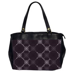 Abstract Seamless Pattern Office Handbags (2 Sides)
