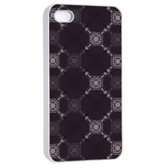 Abstract Seamless Pattern Apple Iphone 4/4s Seamless Case (white)