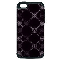 Abstract Seamless Pattern Apple Iphone 5 Hardshell Case (pc+silicone)
