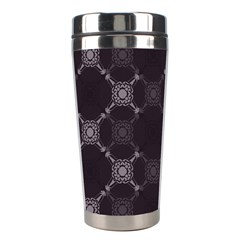 Abstract Seamless Pattern Stainless Steel Travel Tumblers