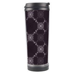 Abstract Seamless Pattern Travel Tumbler
