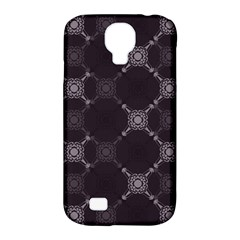 Abstract Seamless Pattern Samsung Galaxy S4 Classic Hardshell Case (pc+silicone)