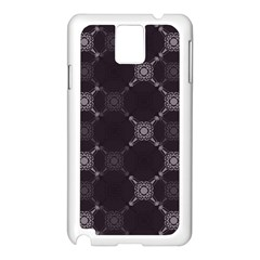 Abstract Seamless Pattern Samsung Galaxy Note 3 N9005 Case (white)