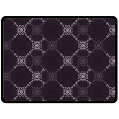 Abstract Seamless Pattern Double Sided Fleece Blanket (large)