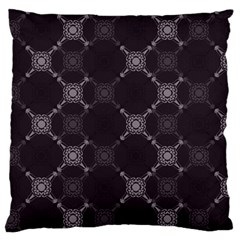 Abstract Seamless Pattern Large Flano Cushion Case (Two Sides)