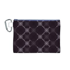 Abstract Seamless Pattern Canvas Cosmetic Bag (M)