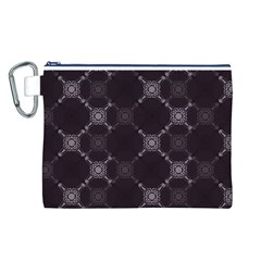 Abstract Seamless Pattern Canvas Cosmetic Bag (L)