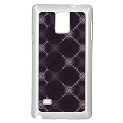 Abstract Seamless Pattern Samsung Galaxy Note 4 Case (white)