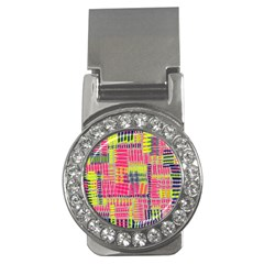 Abstract Pattern Money Clips (cz)