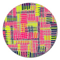 Abstract Pattern Magnet 5  (Round)