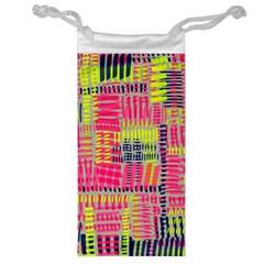 Abstract Pattern Jewelry Bag