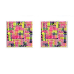 Abstract Pattern Cufflinks (Square)