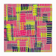 Abstract Pattern Medium Glasses Cloth