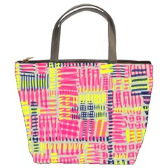 Abstract Pattern Bucket Bags