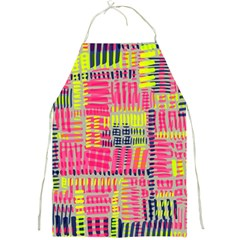 Abstract Pattern Full Print Aprons