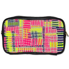 Abstract Pattern Toiletries Bags