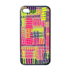 Abstract Pattern Apple iPhone 4 Case (Black)
