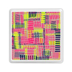 Abstract Pattern Memory Card Reader (Square)