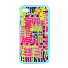 Abstract Pattern Apple iPhone 4 Case (Color)