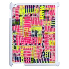 Abstract Pattern Apple iPad 2 Case (White)