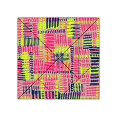 Abstract Pattern Acrylic Tangram Puzzle (4  x 4 )