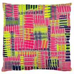 Abstract Pattern Large Cushion Case (One Side)