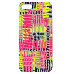 Abstract Pattern Apple iPhone 5 Hardshell Case with Stand