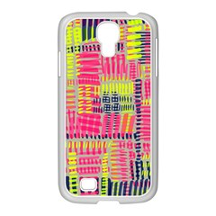 Abstract Pattern Samsung Galaxy S4 I9500/ I9505 Case (white)