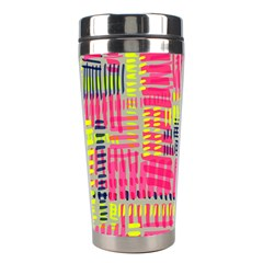 Abstract Pattern Stainless Steel Travel Tumblers