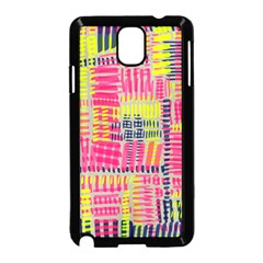 Abstract Pattern Samsung Galaxy Note 3 Neo Hardshell Case (Black)