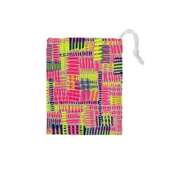 Abstract Pattern Drawstring Pouches (small)