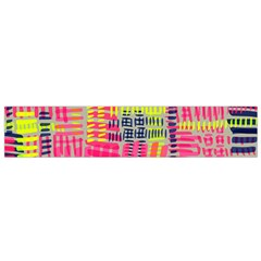 Abstract Pattern Flano Scarf (small)
