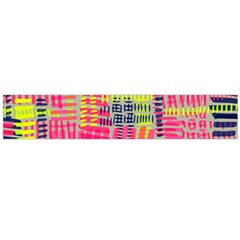 Abstract Pattern Flano Scarf (large)