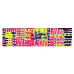 Abstract Pattern Satin Scarf (Oblong)