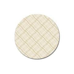 Background Pattern Magnet 3  (round)