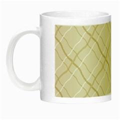 Background Pattern Night Luminous Mugs